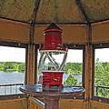 Inside The Lighthouse Tower #3. Uostadvaris. Lithuania. by Ausra Huntington nee Paulauskaite