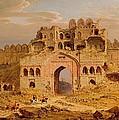 Inside The Main Entrance Of The Purana Qila - Delhi by Robert Smith