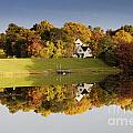 Inspiration Lake In Autumn by Thomas Marchessault