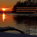 Inspirational Sunset With Quote by Sue Stefanowicz