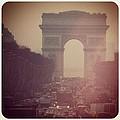 Instagram Photo - L'arc De Triomphe - Paris by Marianna Mills