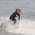 Intense Surfer by Kenneth Albin