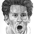 Intensity Lionel Messi by Tamir Barkan