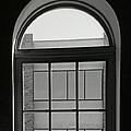 Interior - Windows In Black And White by Lenore Senior