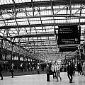 interior of central station Glasgow Scotland UK by Joe Fox