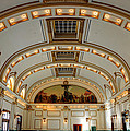 Interior Of Union Pacific Railroad Depot - Salt Lake City by Gary Whitton