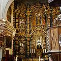 Interior San Xavier Mission by Jon Berghoff