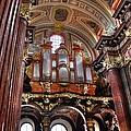 Interior St Stanislaus Church - Posnan by Jon Berghoff