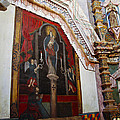 Interior Wall San Xavier Del Bac Mission by Jon Berghoff
