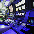 Internal Communications Electrician by Stocktrek Images