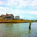 Into The Marina by Betsy Knapp