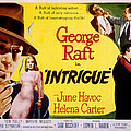 Intrigue, George Raft, June Havoc by Everett