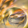 Intrinsic Flame - Abstract Art by Sipo Liimatainen