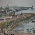 Inverness Shoreline by Edward Wolverton