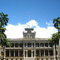 Iolani Palace - No. 003 by Joe Finney