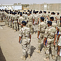 Iraqi Air Force College Cadets March by Stocktrek Images