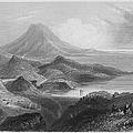 Ireland: Lough Conn, C1840 by Granger