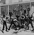 Irish Laborers Killing An African by Everett