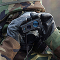 Irman Uses A Range Finder To Determine by Stocktrek Images