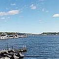 Irondequoit Bay Panorama by William Norton