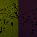 Ironing Diptych 2 by Steve Fields