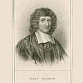 Isaac Barrow, English Mathematician by Science Source