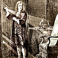 Isaac Newton Ray Of Light by Science Source
