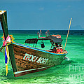 Island Taxi  by Adrian Evans