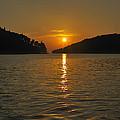 Island's Sunset by Gennadiy Golovskoy
