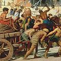 Israel In Egypt by Sir Edward John Poynter