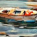 Istrian Fishing Boat by Dragica  Micki Fortuna