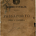 Italian Passport. Italian Passport by Everett