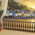 Italian View by Diane Romanello