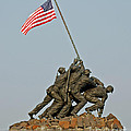 Iwo Jima Memorial by Stephen Whalen