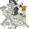 Iztlacoliuhqui, Aztec God Of Frost by Photo Researchers