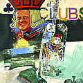 Jack Of Clubs 50-52 by Cliff Spohn