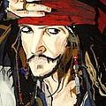 Jack Sparrow Print by Deborah Lepor