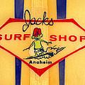 Jacks Surf Shop by Ron Regalado