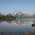 Jackson Lake by Kenneth Hadlock