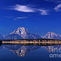 Jackson Lake Reflection by Clare VanderVeen