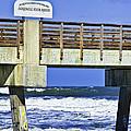 Jacksonville Beach Fishing Pier by Frank Feliciano