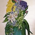 Jade Vase  by Mary ann Barker