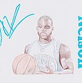 Jameer Nelson by Toni Jaso