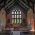 Jamestown Church Interior by Dave Mills