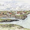 Jamestown Settlement, 1622 by Granger