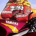Jamie James - Yamaha Yzf by Jeff Taylor