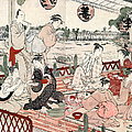 Japan: Restaurant, C1786 by Granger