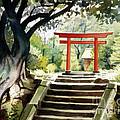 Japanese Tori by Phil Hopkins