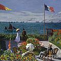 Jardin A Sainte Adresse by Extrospection Art
