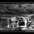Java Falls Monochrome by Darleen Stry
